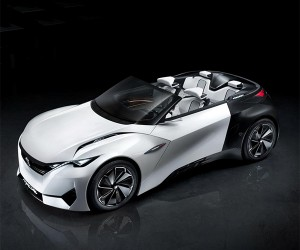 Peugeot's Fractal Concept Droptop EV Angling to Stun