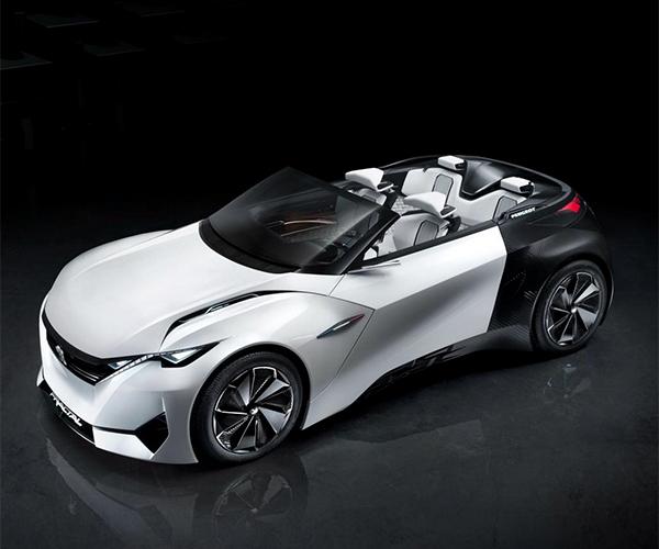 Peugeot's Fractal Concept Droptop EV Angling to Stun