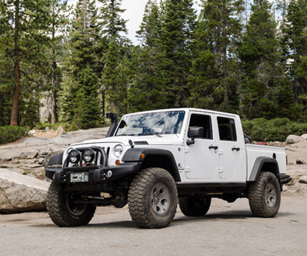 Jeep Wrangler Truck in the Works?