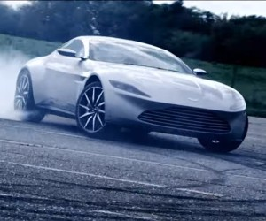 James Bond's Aston Martin DB10 Hooned About