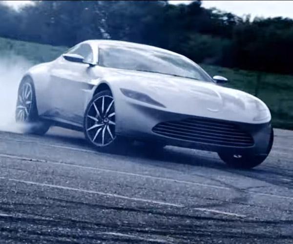 James Bond's Aston Martin DB10 Hooned About
