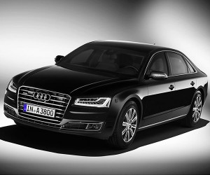 Audi A8 L Security is the Most Armored Civilian Car