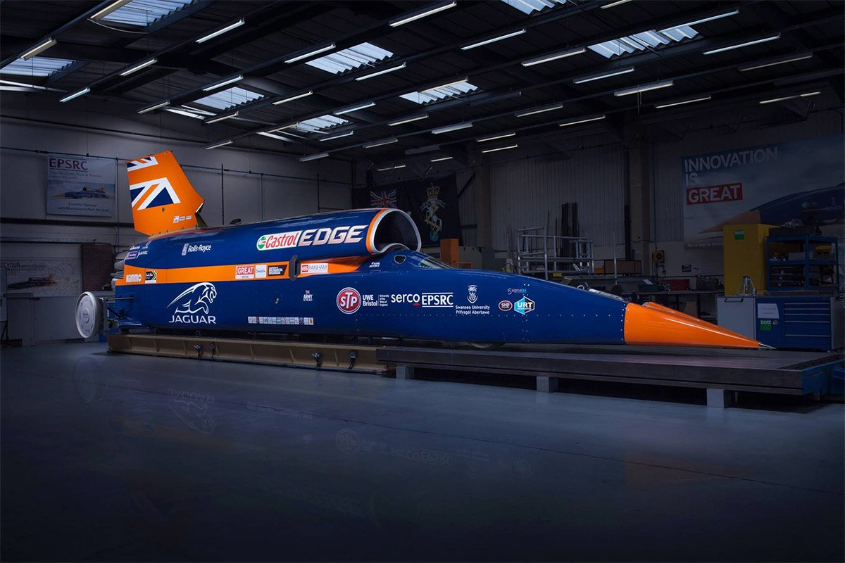 Bloodhound SSC Land Speed Racer Gets Official