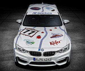 Oktoberfest BMW M3 Ist So Viel Deutsch (So Much German)