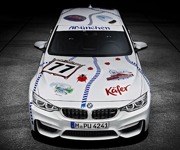 Oktoberfest BMW M3 Ist So Viel Deutsch (So Much German)