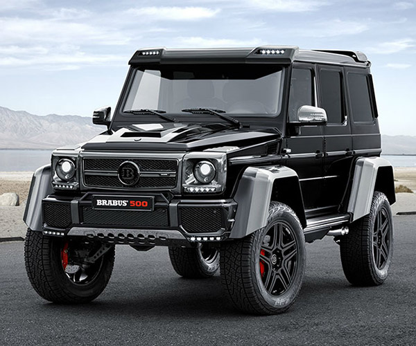 Brabus G500 4×4 Is a Sexy 500hp Off-road Beast