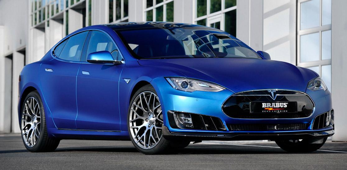 Brabus Massages the Tesla Model S