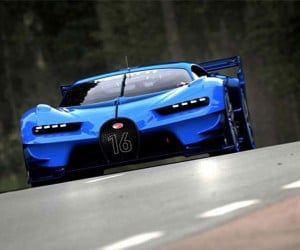 Bugatti Vision Gran Turismo in the Flesh