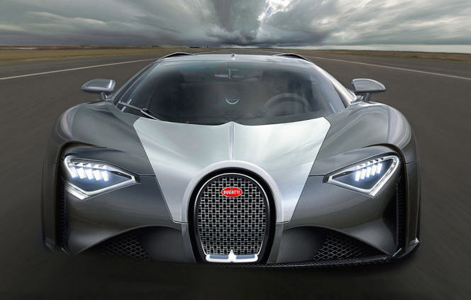 Bugatti Chiron Price Rumored to Start at $2.5 Million