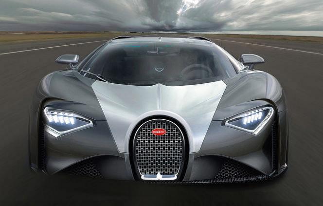 Bugatti Chiron Price Rumored to Start at $2.5 Million