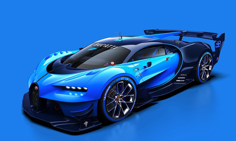 Full-Scale Bugatti Vision Gran Turismo Headed to Frankfurt