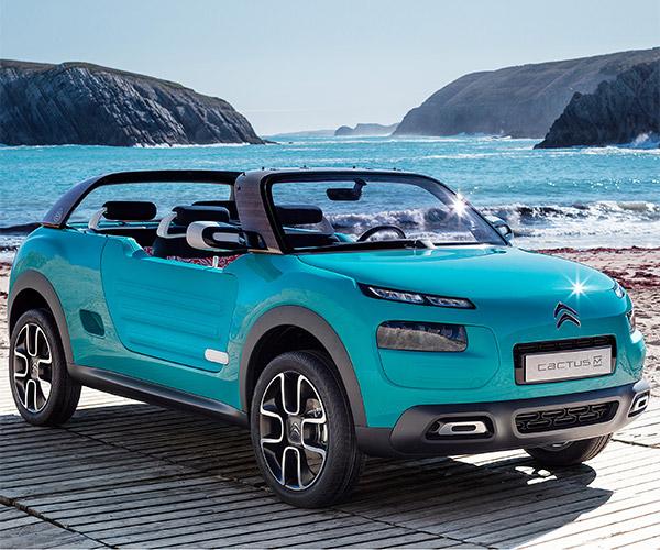 Citroën Cactus M Concept: Life's a Beach