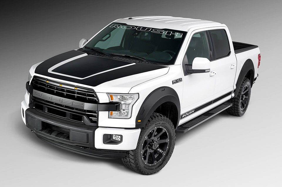 Roush Ford F-150 Adds Suspension and Cosmetic Upgrades