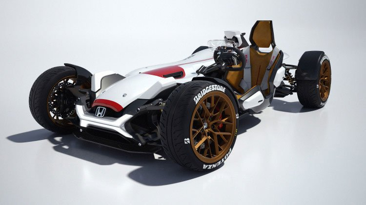 Honda Project 2&4 Concept is a Track Day Dream