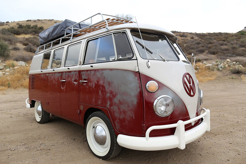 ICON Fixes up Old '67 VW Bus and It's Awesome
