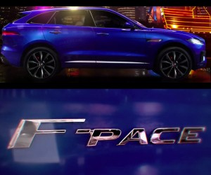 Jaguar F-Pace Shown without Camouflage