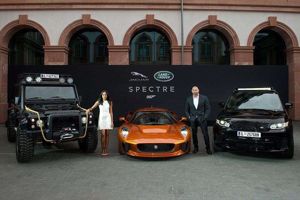Land Rover and Jaguar's Bond Villain Cars Unveiled