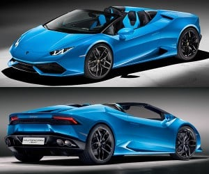 Lamborghini Huracán Spyder Hits 201mph with the Top Down