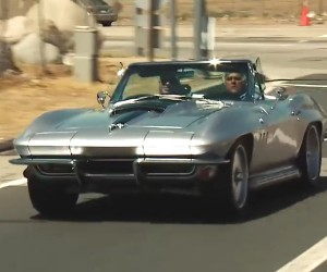 Joe Rogan Shows Jay Leno His '65 Vette Restomod