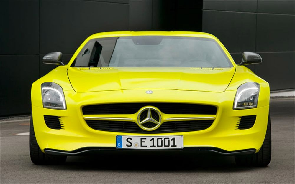 Mercedes Working on Tesla Competitor with 300+ mile Range