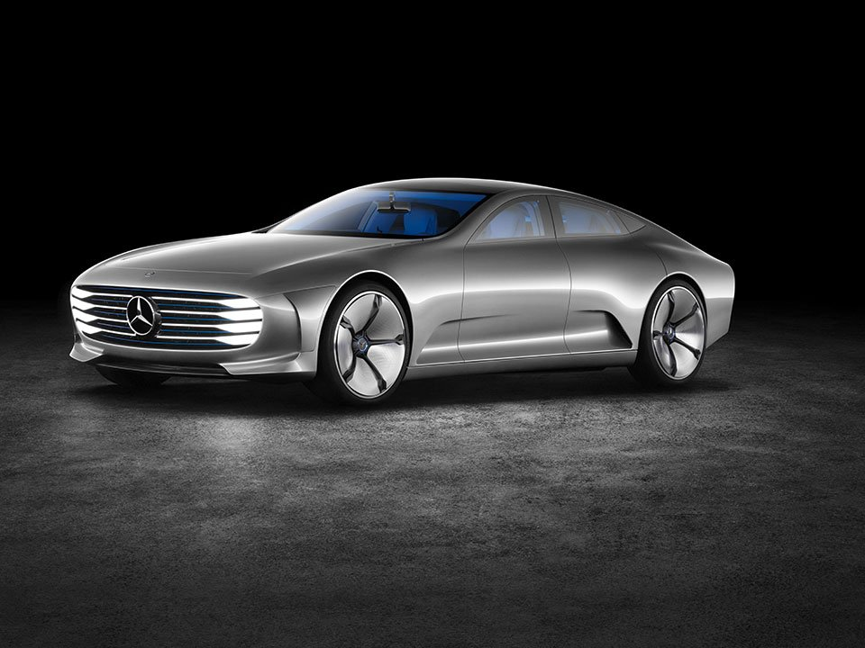 Mercedes-Benz Concept IAA Changes its Shape at Speed