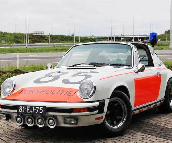 1974 Porsche 911 Targa Police Car Heads to Auction