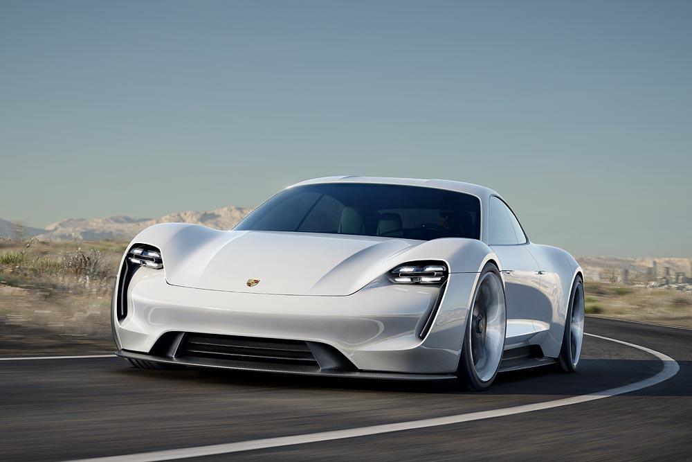 Porsche Mission E Concept: A 600hp Tesla Killer?