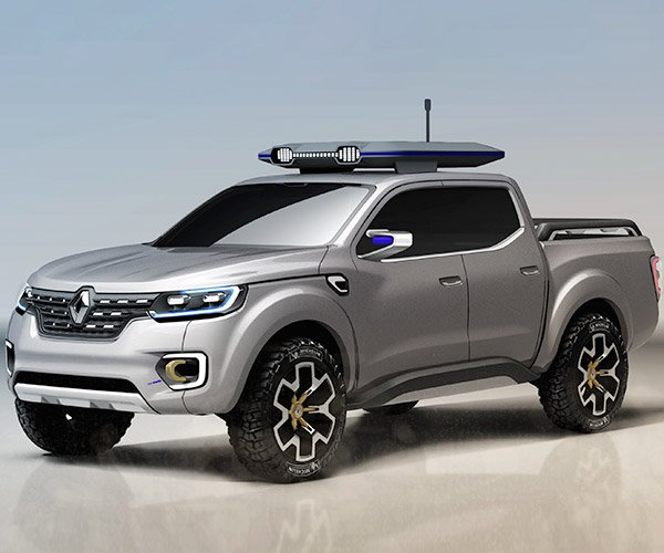 Renault Alaskan Concept Takes on Small Pickup Market