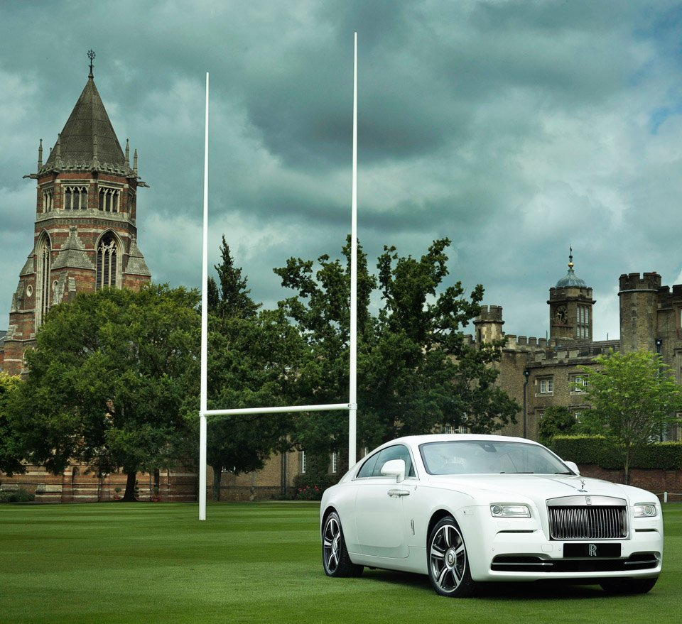 Rolls-Royce Wraith History of Rugby Special Edition