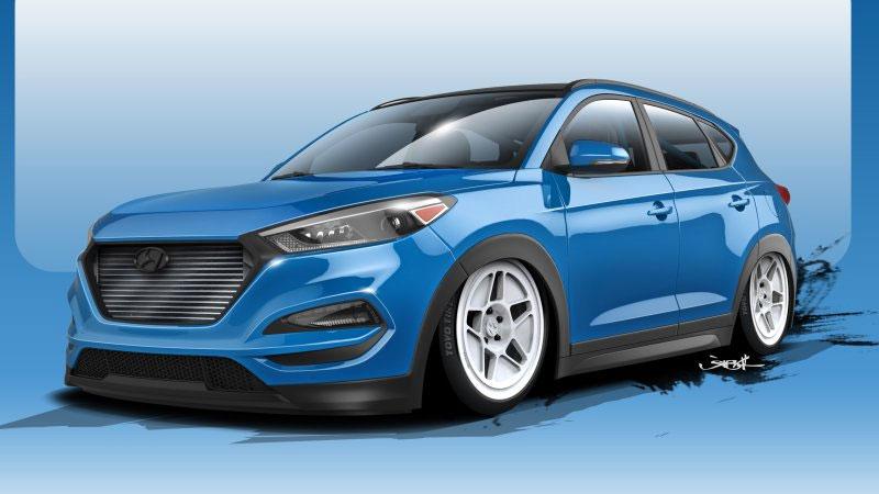 Bisimoto Hyundai Tucson Packs 700hp