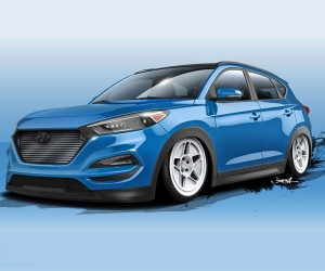 Bisimoto Hyundai Tucson Packs 700hp