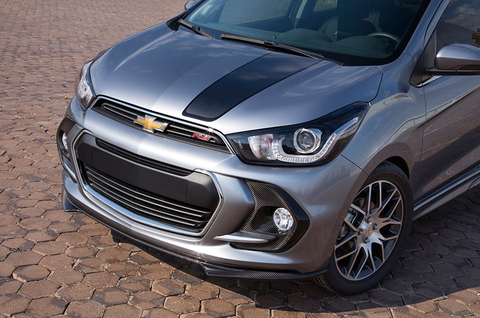 Chevy Spark RS Concept Clad in Carbon Fiber