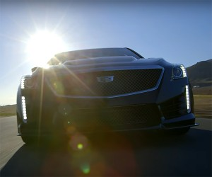 Hitting the Track and the Hills in the New CTS-V