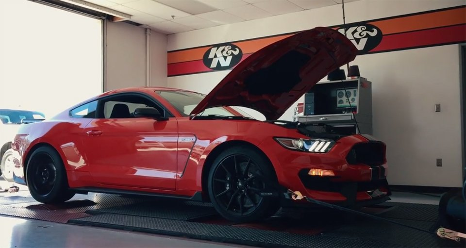 Shelby GT350 Rips up the Dyno