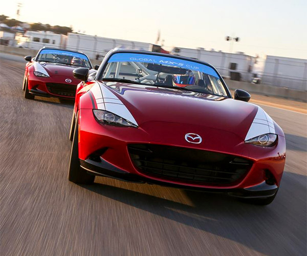 2016 Mazda MX-5 Cup Racer Costs $53k Ready to Race