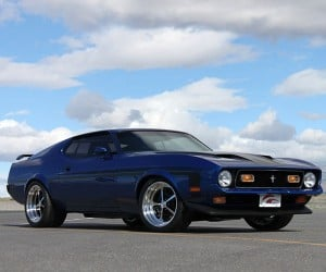 1971 Mustang Mach 1 Restomod by Gateway Classic Mustang