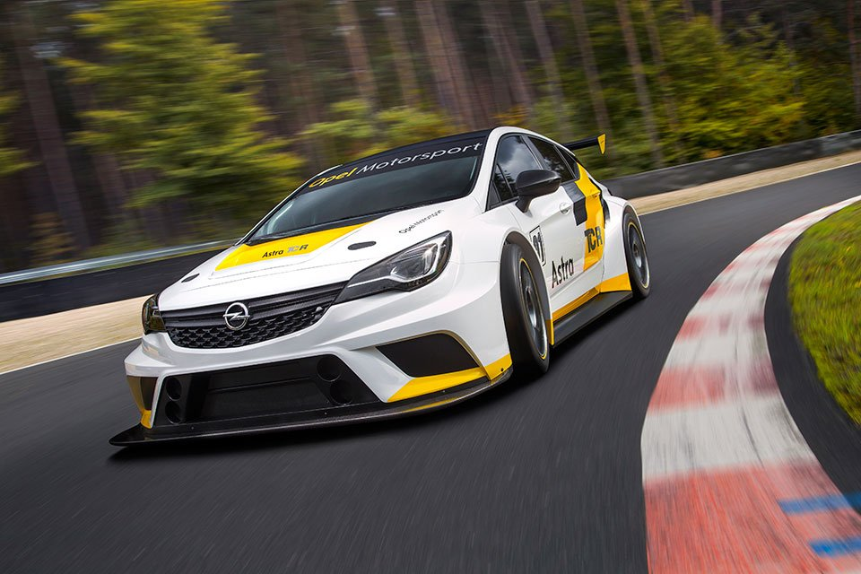 Opel Astra TCR is a Factory-built Turnkey Racing Car