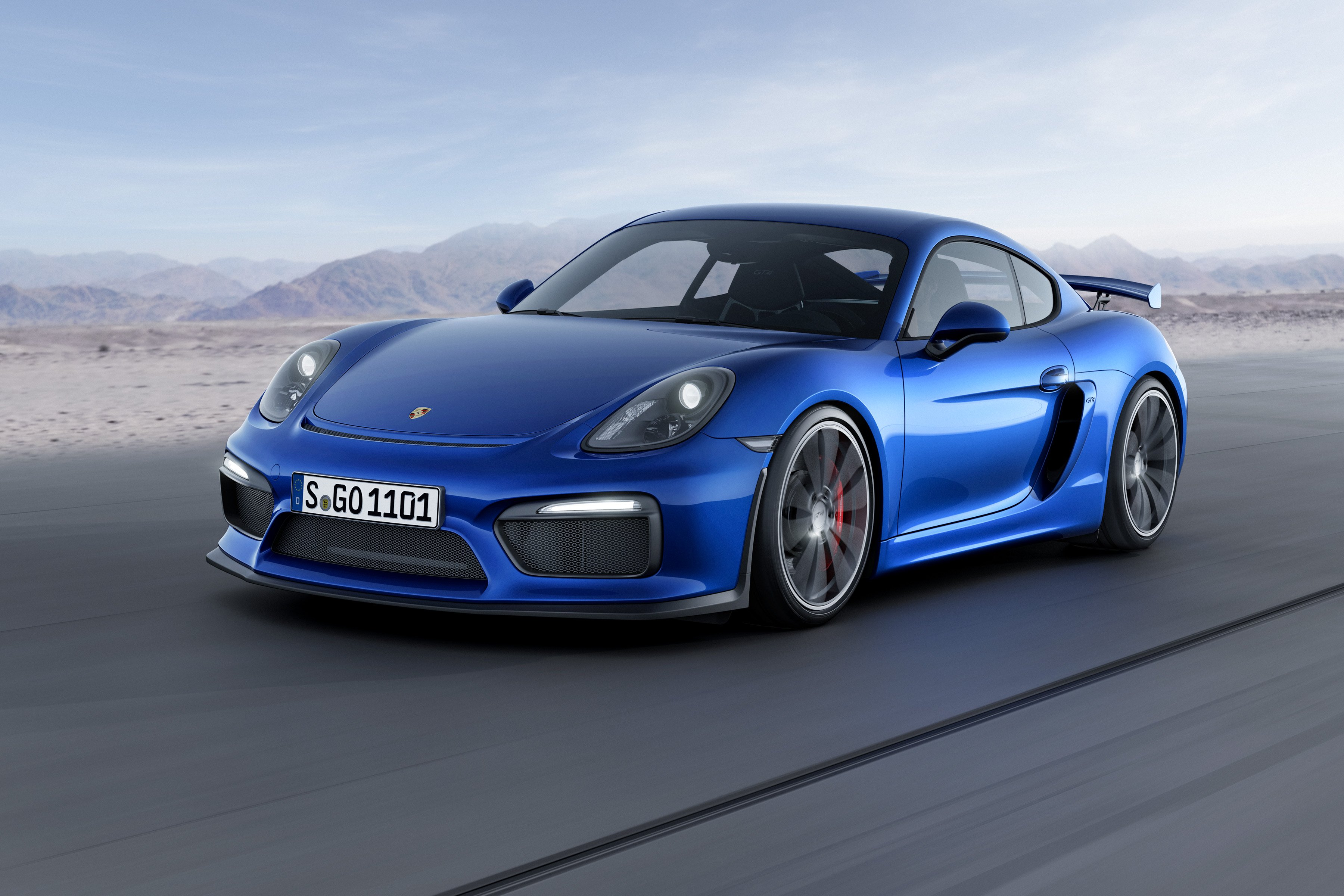 Porsche Cayman GT4 Clubsport Ready for the Track
