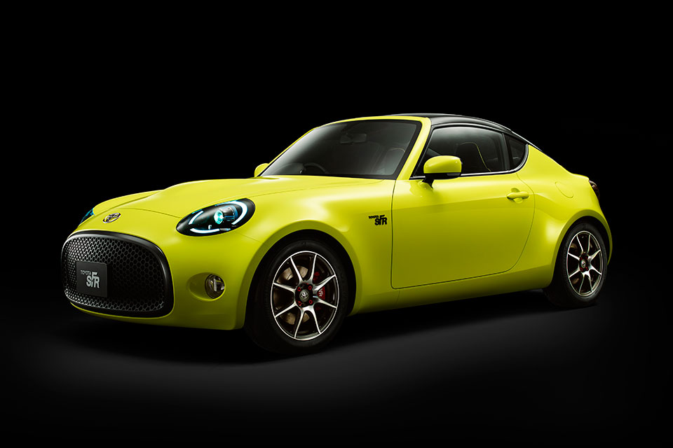 Toyota S-FR Concept: A Small, Sporty Rear-Wheel Drive 2+2 - 95 Octane
