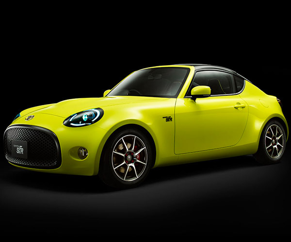 Toyota S-FR Concept: A Small, Sporty Rear-Wheel Drive 2+2