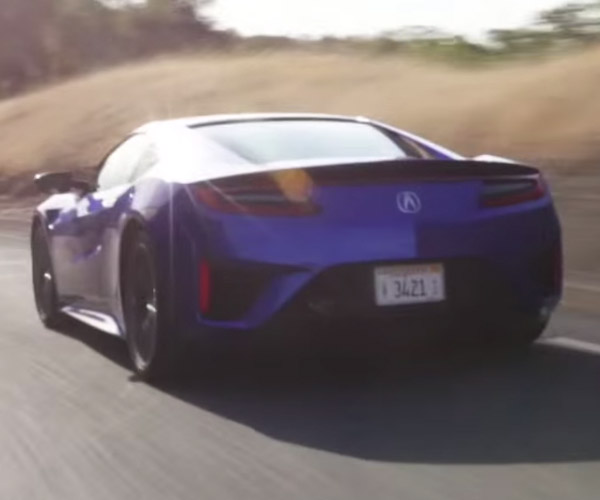 The 2017 Acura NSX Gets Driven
