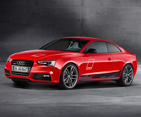 Audi A5 DTM Celebrates Racing History with a Diesel V6