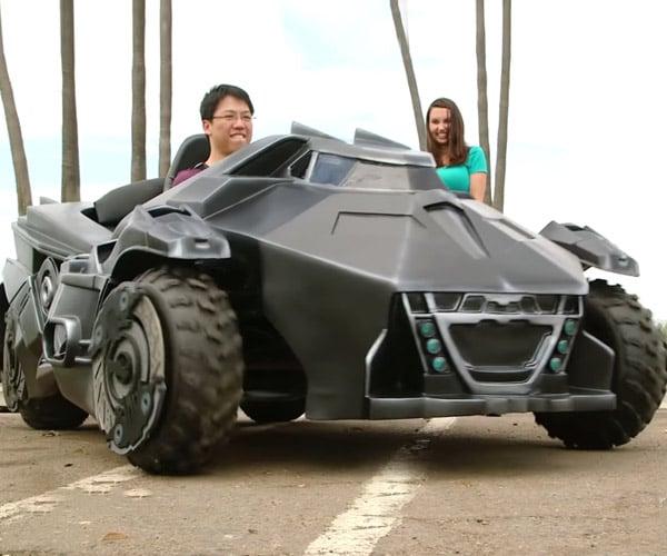 Arkham Knight Batmobile Go-Kart Makes Me Jealous
