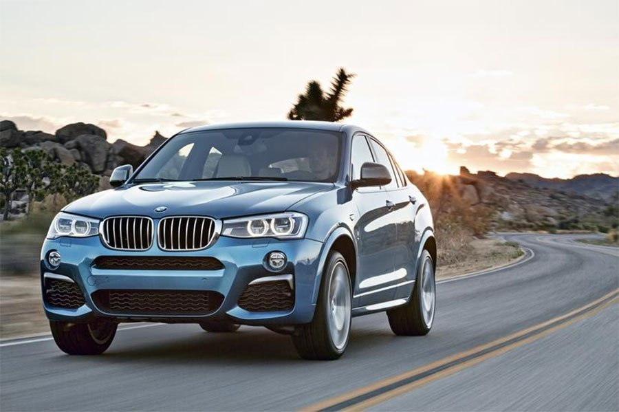 BMW X4 M40i Sports Activity Coupe Gets 355 hp Turbo Six