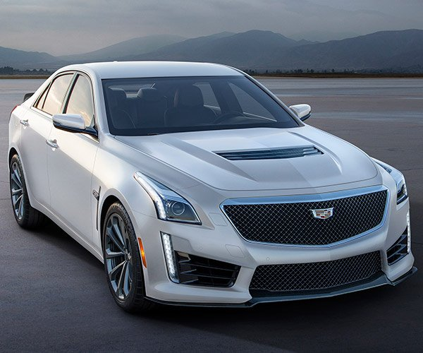 Cadillac CTS-V and ATS-V Crystal White Frost Editions Matte-r