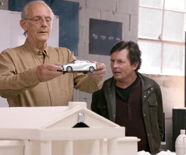 Marty & Doc Get a Real Mr. Fusion, Sorta.