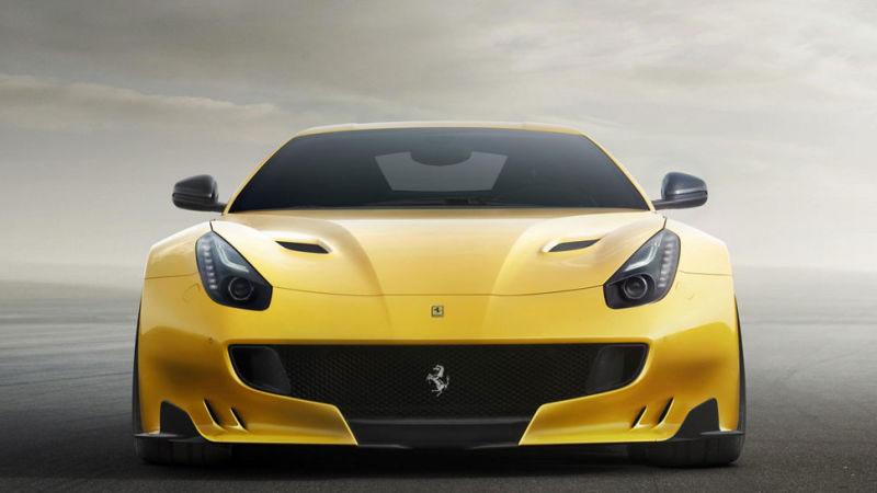 Ferrari F12tdf Packs 770 hp V12, Rear-Wheel Steering