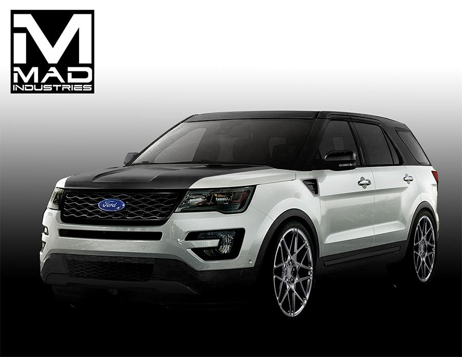 ford to blitz sema with 28 custom suvs and crossovers 95 octane. Black Bedroom Furniture Sets. Home Design Ideas