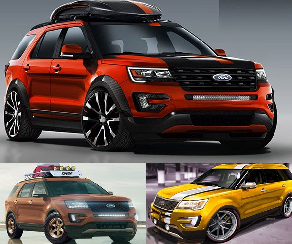 ford to blitz sema with 28 custom suvs and crossovers. Black Bedroom Furniture Sets. Home Design Ideas