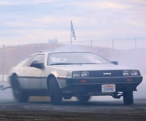 Stanford Builds Autonomous Drifting DeLorean: Hoon to the Future
